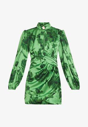 RENEW DRESS - Cocktailkleid/festliches Kleid - green washed