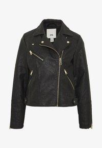 River Island - Faux leather jacket - black - 4
