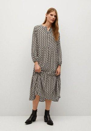 TUCCAP - Shirt dress - brun