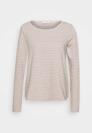 Topper langermet - light pink
