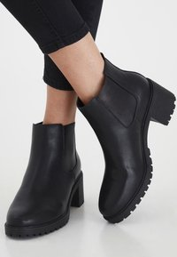 ICHI - Classic ankle boots - black - 0