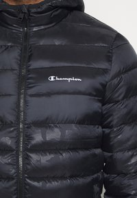 Champion - LEGACY HOODED JACKET - Vinterjakker - black - 5