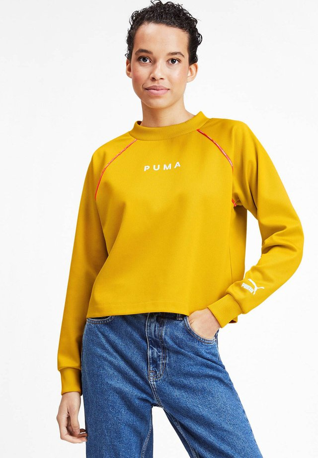 XTG CREW  - Sweatshirt - yellow