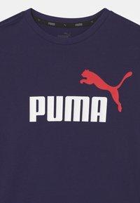 Puma - LOGO UNISEX - Print T-shirt - peacoat - 2