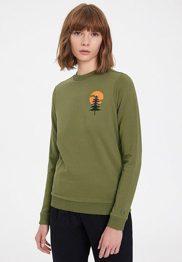 X-MAS - Sweatshirt - capulet olive