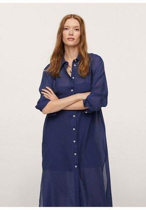 GESTREEPTE - Maxi dress - donkermarine
