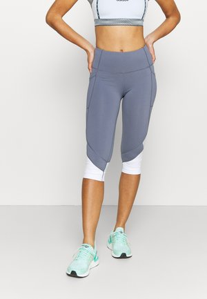 ALL ROUNDER CAPRI - Leggings - blue jay
