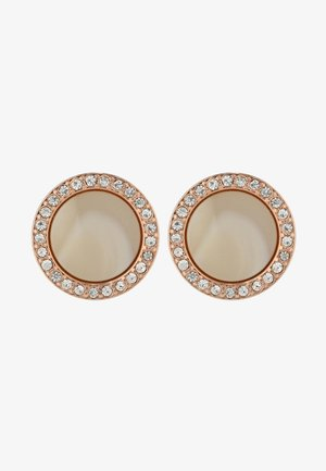 FASHION - Pendientes - rosegold-coloured