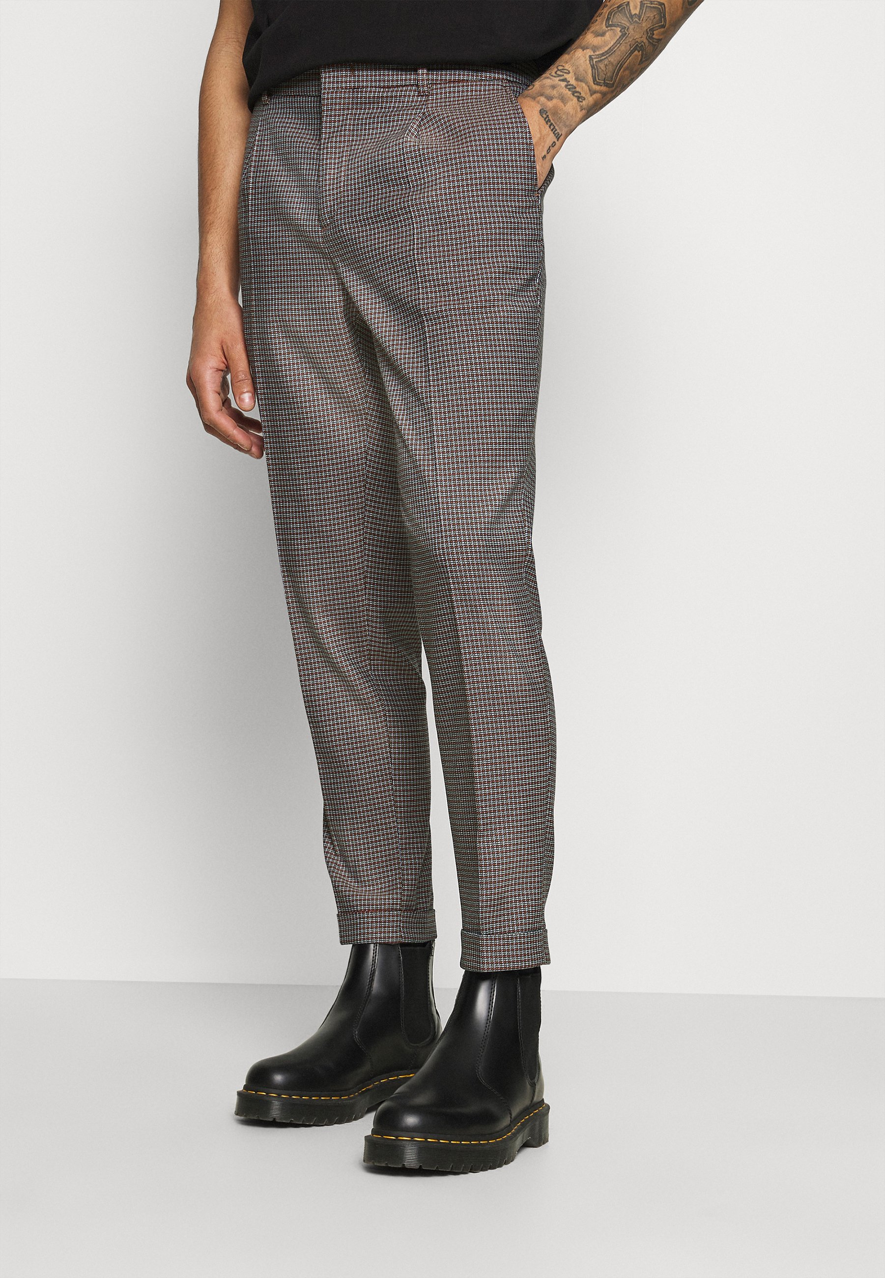 Men BLAKE CLASSIC PLEATED STRUCTURED - Trousers