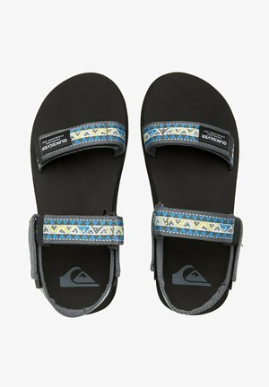 MONKEY CAGED - Sandals - green/blue/grey