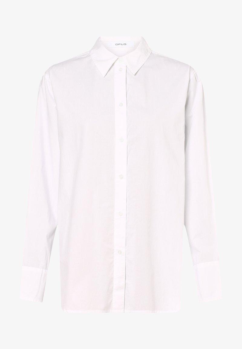 Opus - Fasona - Button-down blouse - weiß
