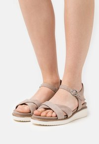 Tamaris - Platform sandals - taupe - 0