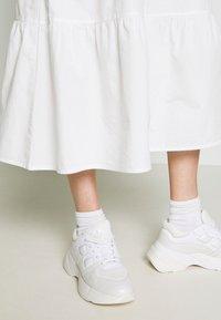 Bruuns Bazaar - FREYIE MADDY DRESS - Day dress - white - 4