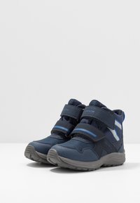 Geox - KURAY BOY - Winter boots - navy/royal - 3