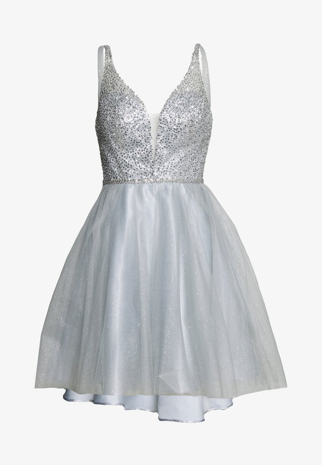 Cocktail dress / Party dress - silver gray