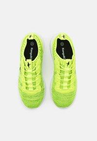 KangaROOS - K-ACT STASH - Trainers - neon yellow/jet black - 3