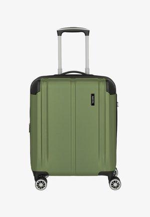 CITY 4-ROLLEN KABINENT - Wheeled suitcase - green
