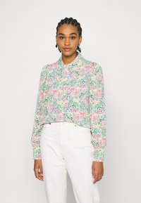 Monki - NALA BLOUSE - Košile - light green - 0