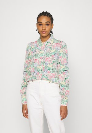 NALA BLOUSE - Button-down blouse - light green