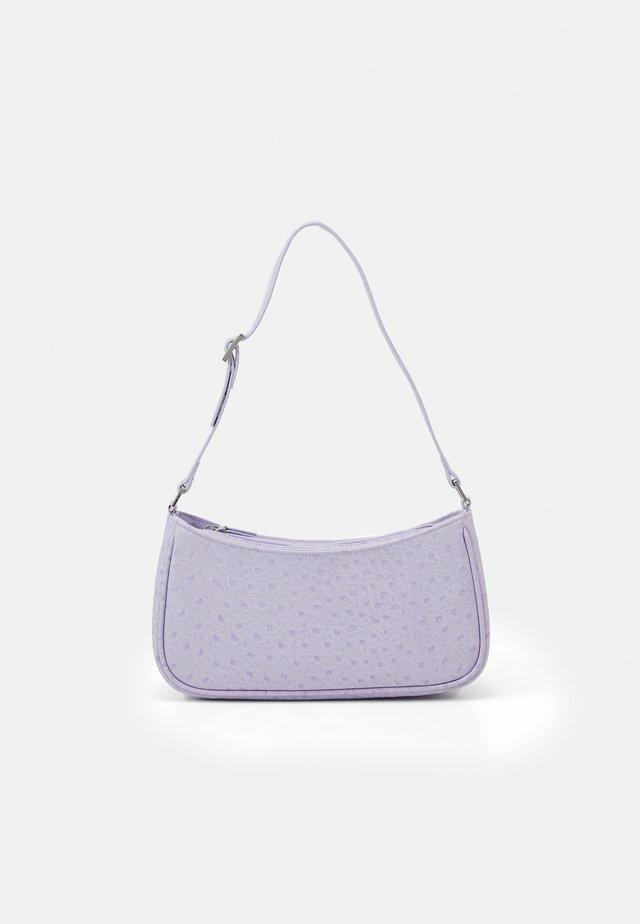 ODESSA BAG - Handtasche - lilac ostrich