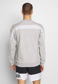 adidas Performance - Sweatshirts - mgreyh/white - 2