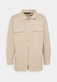 Mennace - AFTERMATH DOUBLE POCKET - Camisa - beige - 4