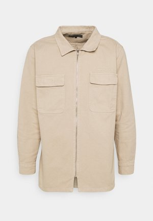 AFTERMATH DOUBLE POCKET - Overhemd - beige
