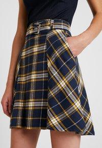 edc by Esprit - SOFT - A-line skirt - navy - 4