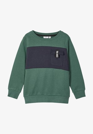 Sweatshirt - bistro green