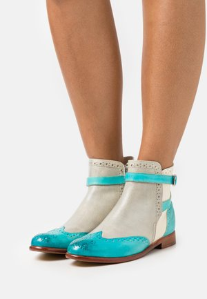 SELINA  - Ankle boots - vegas/turquoise/oxygen/white/mermaid/natural
