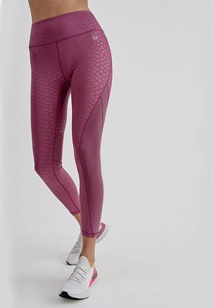 SONORA - Leggings - Trousers - malva