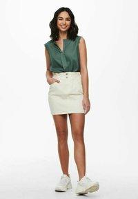 ONLY - Mini skirt - ecru - 1