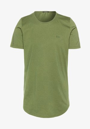 LUIS LONGLINE TEE - Basic T-shirt - army green