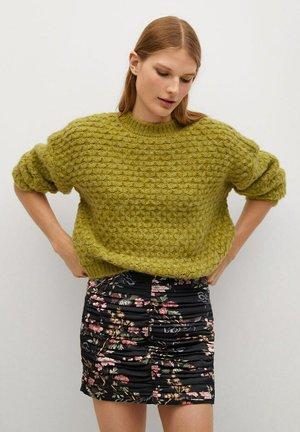 LOVER - Mini skirt - schwarz