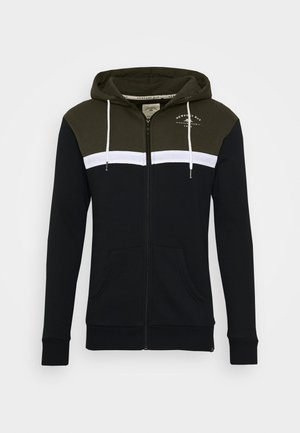 TACK HOOD - Zip-up hoodie - black
