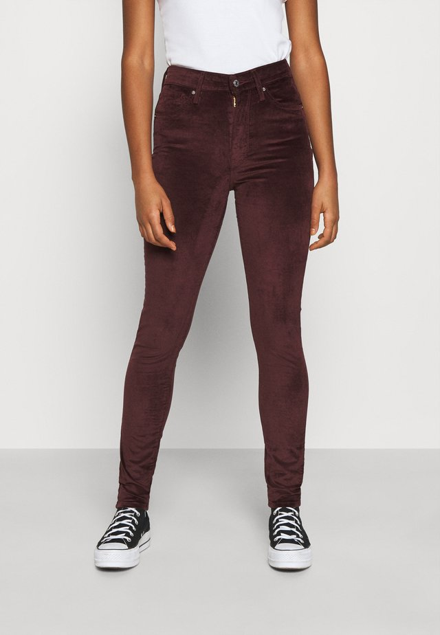 721 HIGH RISE SKINNY - Jeans Skinny - bordeaux