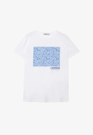 02593488 - T-shirt con stampa - white