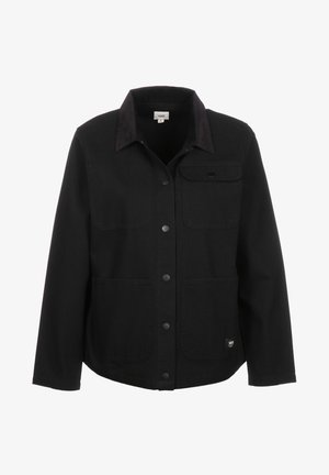 WM DRILL CHORE JACKET WMN - Summer jacket - black