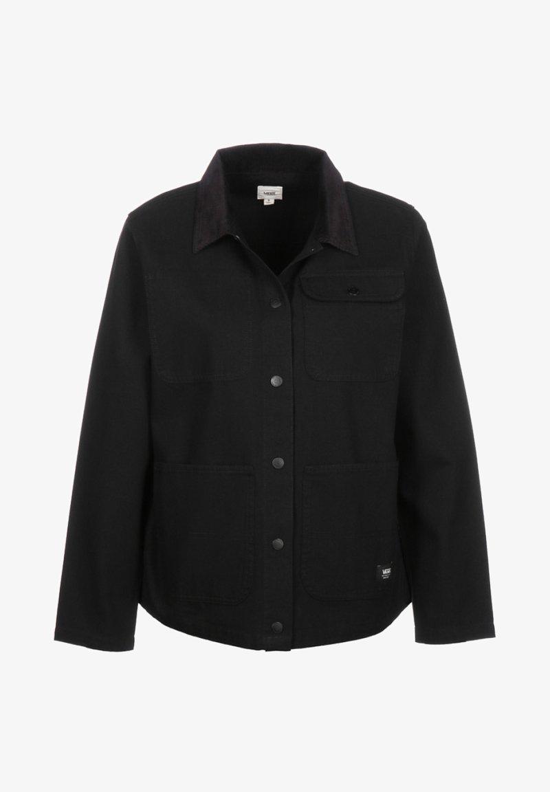 Vans - WM DRILL CHORE JACKET WMN - Summer jacket - black