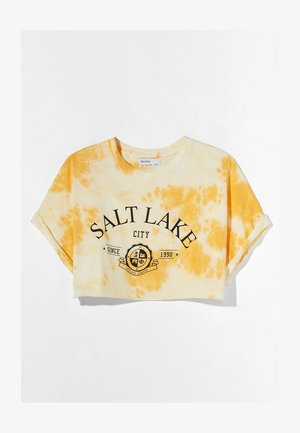 T-shirt con stampa - orange