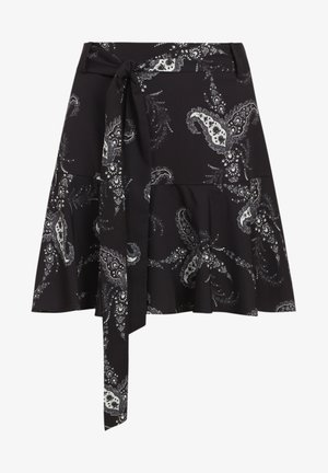 FRIDA KASHMIR - Mini skirt - black