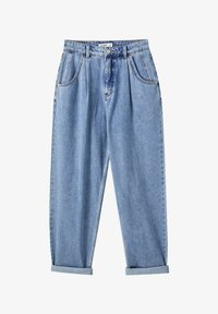 PULL&BEAR - Relaxed fit jeans - light blue - 6