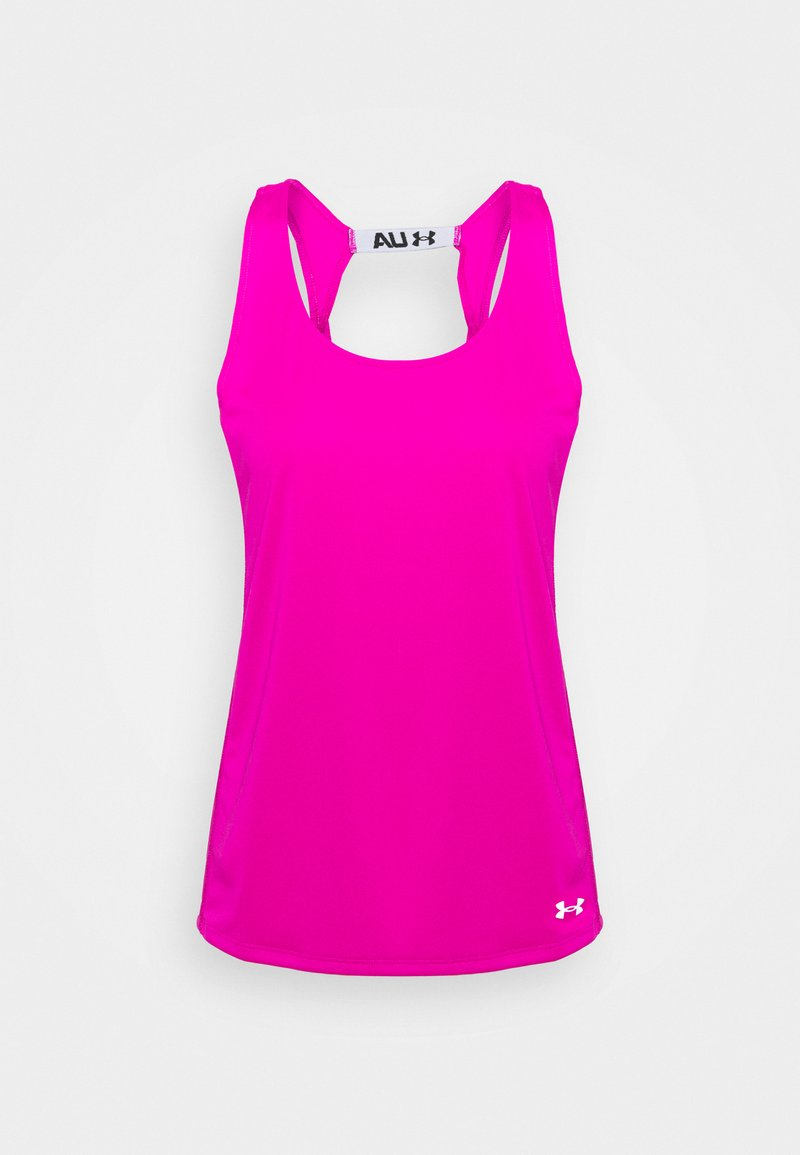 Under Armour - FLY BY TANK - Sports shirt - meteor pink