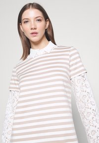 Vila - VITINNY - Jersey dress - snow white - 3