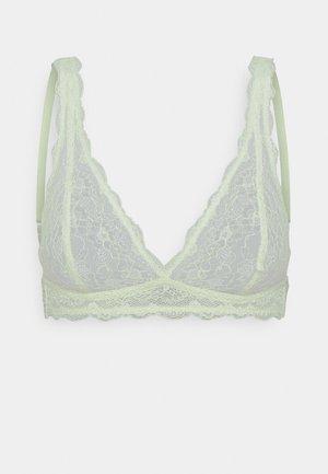 Triangle bra - green light