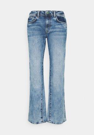 NEW OLYMPIA - Straight leg jeans - light blue denim