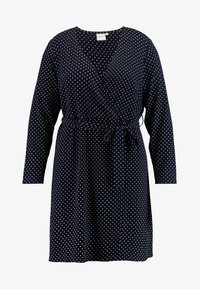 JUNAROSE - by VERO MODA - JRALIKA - Day dress - navy blazer - 4