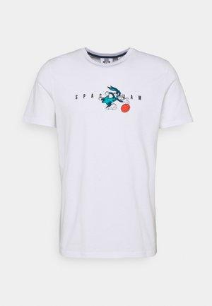 CALLUM TEE UNISEX - Print T-shirt - white