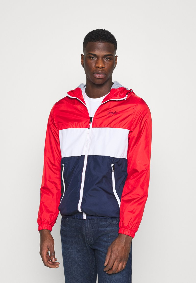 Jack & Jones - JJHUNTER - Allvädersjacka - true red