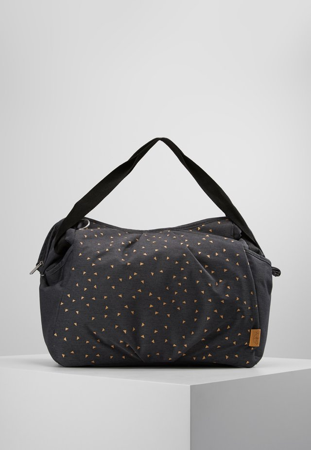 TWIN BAG TRIANGLE - Borsa fasciatoio - dark grey